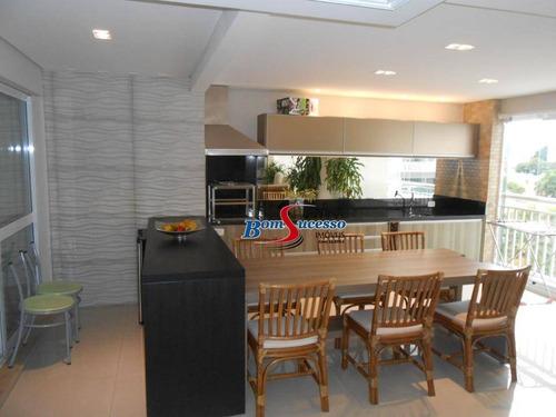 Imagem 1 de 30 de Apartamento Com 4 Dormitórios À Venda, 242 M² Por R$ 2.800.000 - Tatuapé - São Paulo/sp - Ap3088