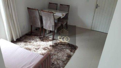 Imagem 1 de 18 de Apartamento À Venda, 48 M² Por R$ 130.000,00 - Serraria - São José/sc - Ap2135