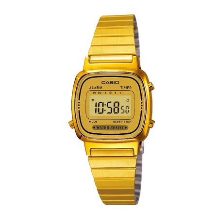 Relógio Casio Vintage Feminino La670wga-9df