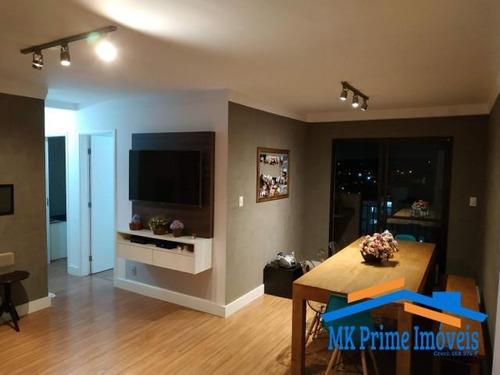 Imagem 1 de 15 de Apartamento - 90m2 - 3dorms - 2 Vagas - City Bussocaba - 1450