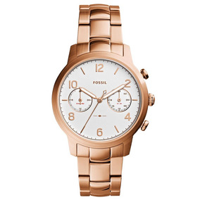 Relógio Feminino Analógico Fossil Es4237/4bn - Rosé