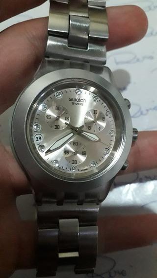 Relógio Swatch - Quartz - Cronógrafo - Unissex - R419