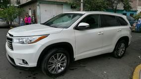 Toyota Highlander Limited Piel Lujo Total 2014