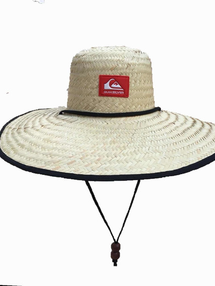 Chapeu Palha Surf Quiksilver Rave/praia/pescaria