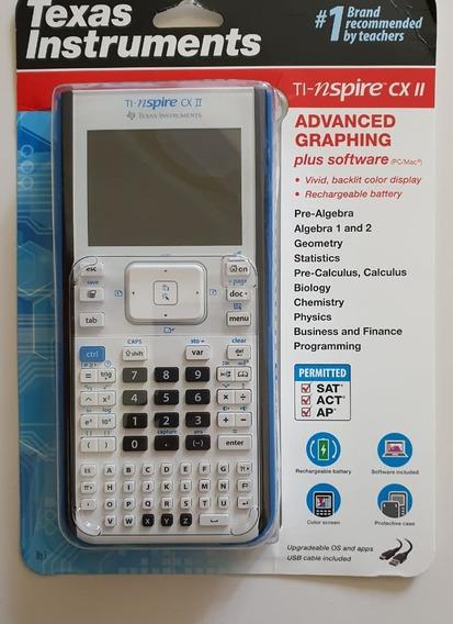 Calculadora Grafica Texas Instruments Ti Nspire Cxii