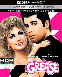 Grease - Edición Aniversario 4k Ultra Hd + Bluray + Digital