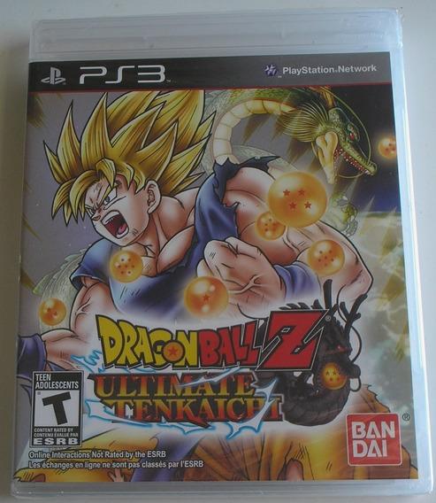 Dragon Ball Z Ultimate Tenkaichi Ps3 Original Lacrado