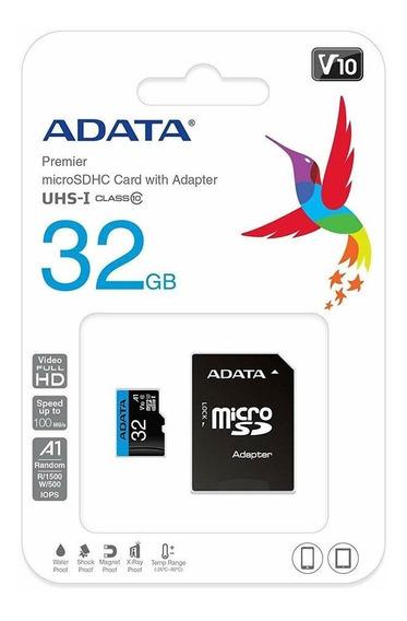 Adata Premier 32gb Microsdhc/sdxc Uhs-i Classe 10