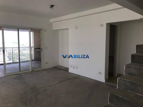 Cobertura Quartier  275m² - 3 Suítes - 4 Vagas! Vila Rosália - Guarulhos. Estuda Permuta! - Co0056