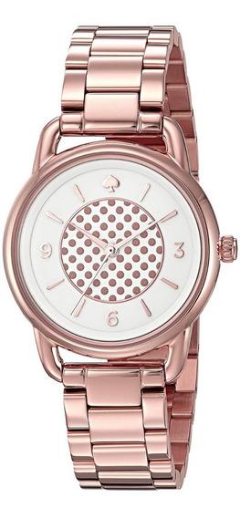 Reloj Kate Spade Ny Oro Rosa Lujo Diseñador Envio Gratis