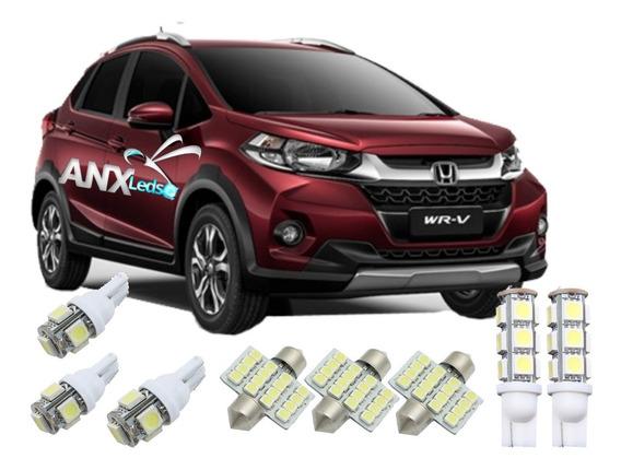 Kit Lampadas Led Efeito Xenon Honda Wrv Frete 12.00 - Anx