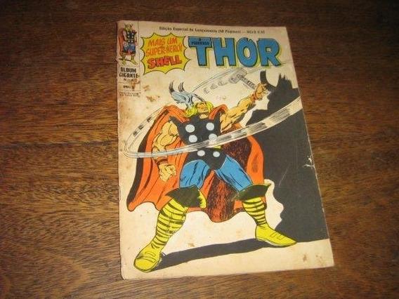Thor Album Gigante Nº 0 Julho De 1967 Ebal Original Raro
