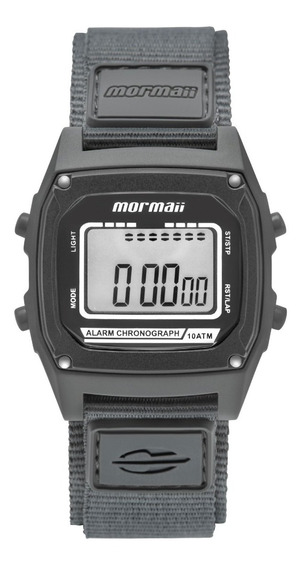 Relógio Mormaii Unissex Quadrado Cinza - Mon28ab/8c