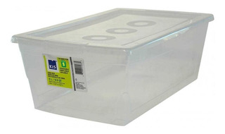 Caja De Almacenamiento De 9 Litros Con Tapa