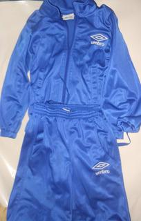 Pants Umbro Azul Niño Talla 4