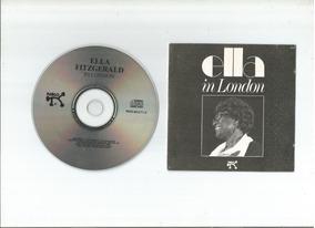 Cd Ella Fitzgerald In London Frete Gratis Ao Vivo