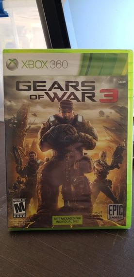 Gears Of War 3 - Xbox 360 Original Lacrado