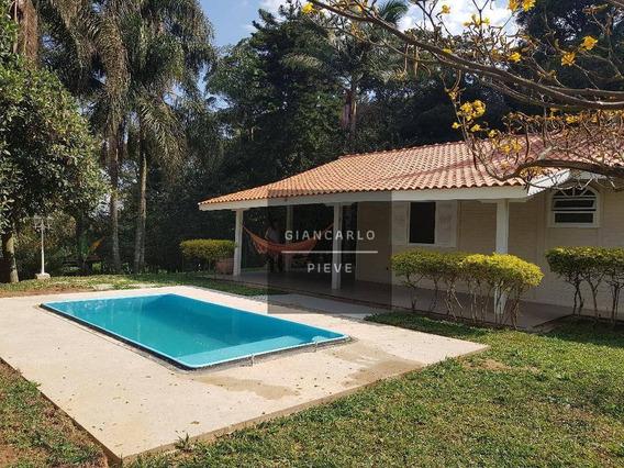 Chácara Com 2 Dormitórios À Venda, 1425 M² Por R$ 340.000 - Est Santa Maria Do Portão - Atibaia/sp - Ch0202