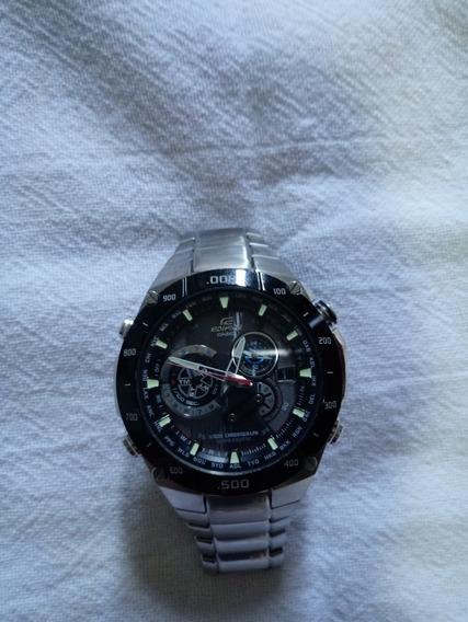 Relógio Casio Edifice Wave Ceptor Solar