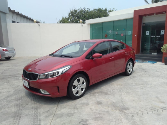 Kia Forte 2.0 Lx At 2018 Rojo