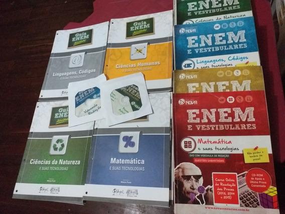 Kit Enem Livros + Apostilas De Atividade
