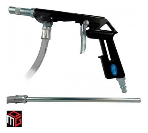 Imagen 1 de 5 de Pistola Arenadora Neumatica Compresor Bemar Con Manguera Dgm