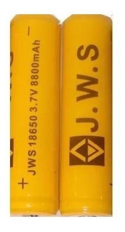 10 Super Bateria Chip Jws Longa Duração 18650 T6 T9 Top
