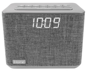 Ihome Ibt232gx Radio Reloj, Alarma,bluetooth Y Cargador Usb