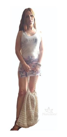 Vestido Manawee Mujer Morley Con Batik