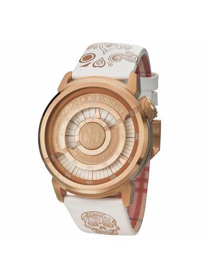 Relógio Yankee Street Feminino - Ys30256b - Branco/dourado