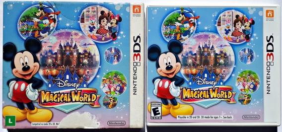 Jogo Disney Magical World Nintendo 3ds Original Mídia Física