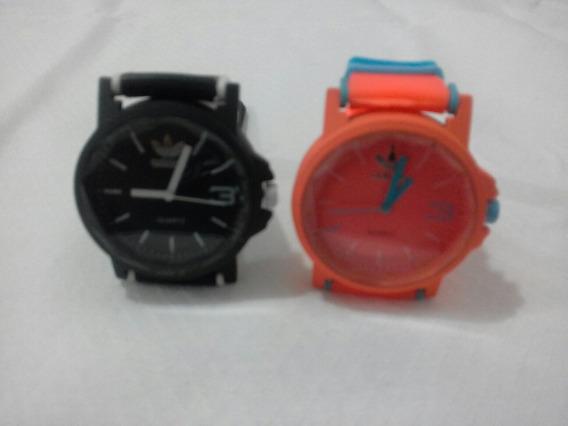 Kit 2 Relógios Feminino Color! + Bateria Extra!