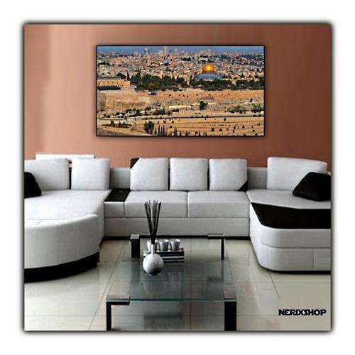 Jerusalém Poster 60x100cm Muro Lamentações Para Decorar Casa