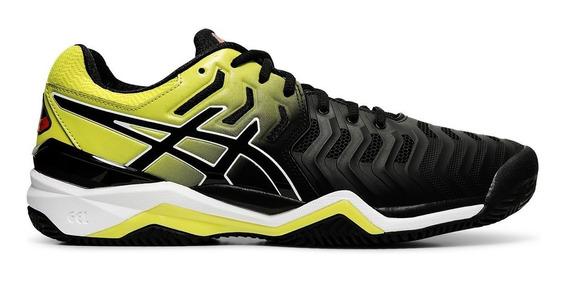 Zapatilla Asics Tenis Hombre Gel Resolution 7 Negro Ama Ras
