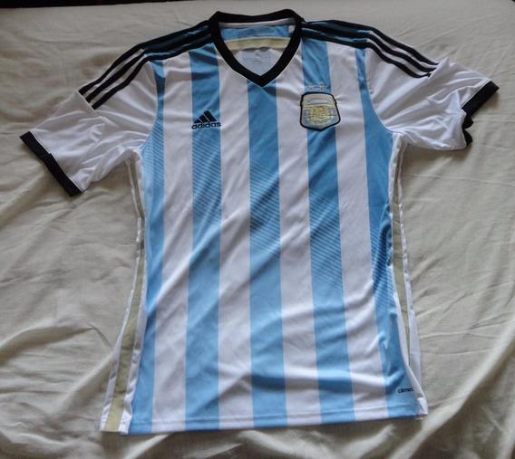 Camiseta Argentina Afa adidas # M Rojo # 16, Talle L