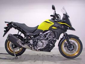 Suzuki V Strom 650 Xt Abs 2019 Amarela