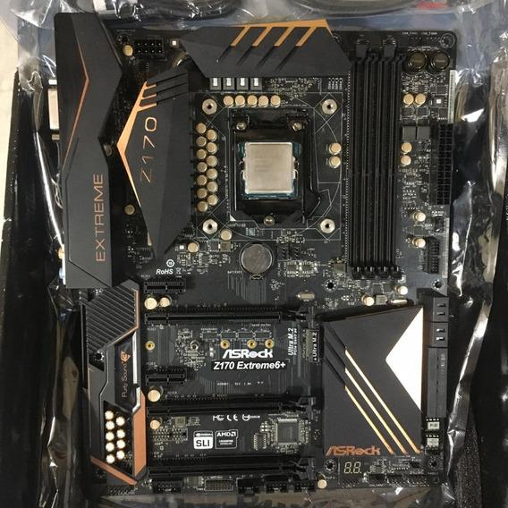 Kit Intel Core I7 6700k 4.2ghz + Asrock Z170 Extreme 6+