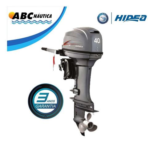 Imagem 1 de 13 de Motor De Popa 40hp Hidea