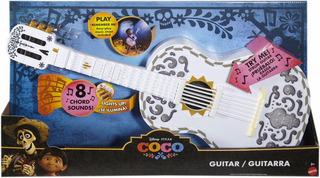 Disney Pixar Coco Guitarra Interactiva Luz Y Sonidos 63 Cm
