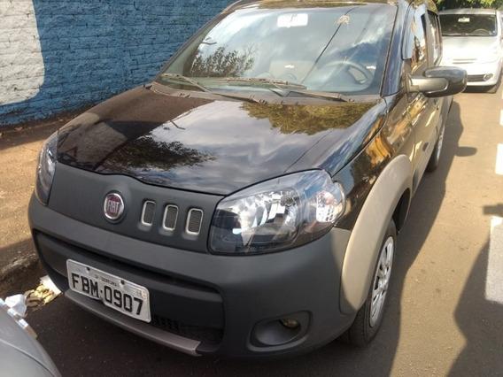 Fiat Uno Way Evo 1.4 Preto 2012