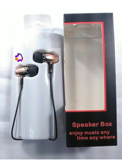 Audífonos Metalizados 3.5mm,buena Calidad,tienda Fisica