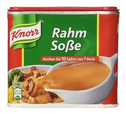 Knorr Creamy Gravy Para Carne (rahm Sose) Por 1,75 Litros