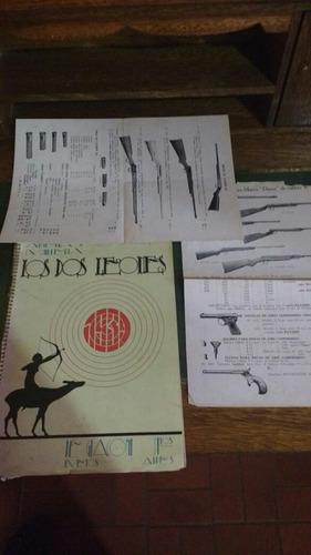 Imagen 1 de 7 de 1939 Catalogo Armas Antigua Exelente Catalogo De Coleccion