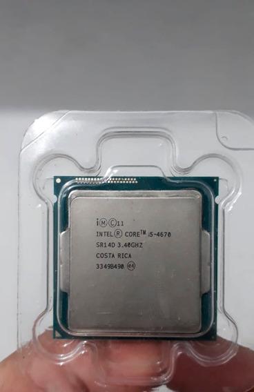 Processador I5 4670 Lga 1150 3.40 Ghz Turbo Boost 3.80 Ghz