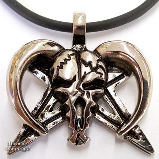 Amuleto Satánico Fabricado En 7 Metales Ritualizado Y Activo