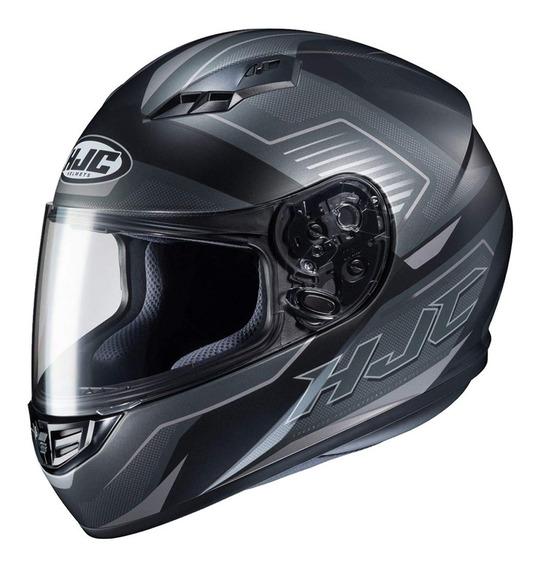Capacete Moto Hjc Cs 15 Trion Preto Original