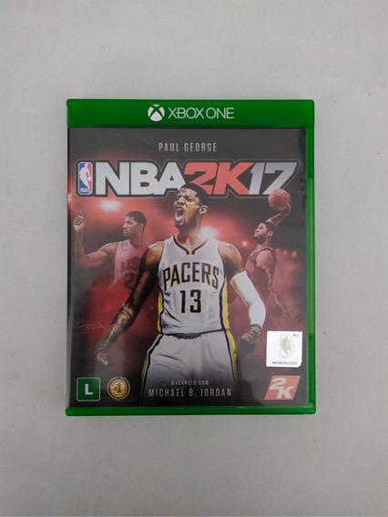 Jogo Nba 2k17 Mídia Física Xbox One