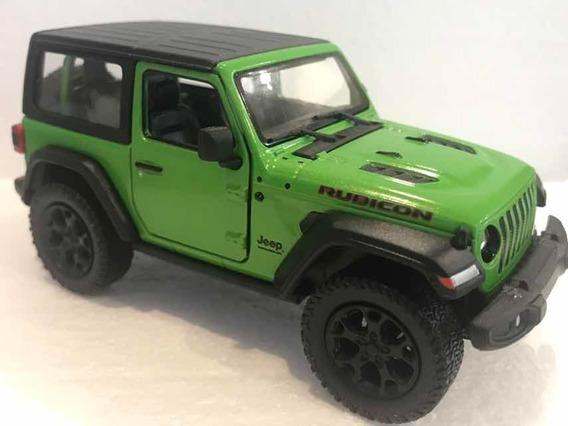 Jeep Wrangler , Escala 1/38 , Kinsmart