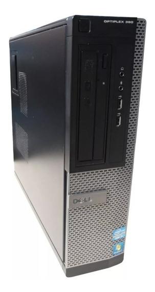 Cpu Computador Desktop Dell Optiplex 390 I3 4gb Windows 10