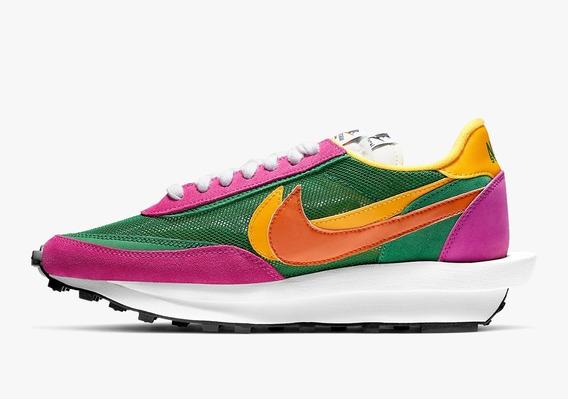 Sacai X Nike Pine Green Tamanho 42